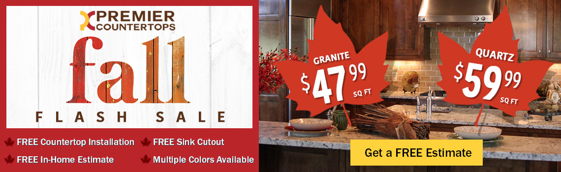 Premier Countertops Fall Flash Sale